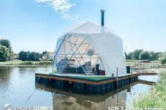 16ft T Floating Dome Home