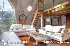 24ft Dome Home Interior - Canada
