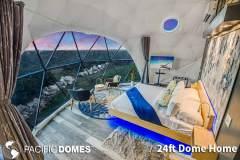 24ft Dome Home Interior - Texas