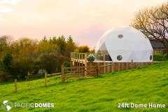24ft Dome Home - Loveland Farm