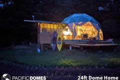 24ft Dome Home - Massachusettes