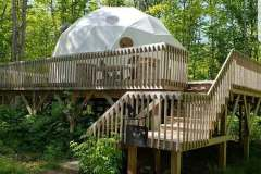 24ft Dome Home - Tree Top Haven