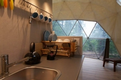 24ft Dome Home Interior