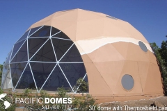 30ft Dome Home - Thermoshield Paint