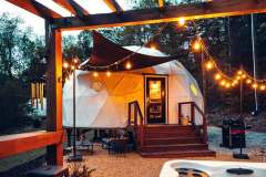 30ft Dome Home - Blue Ridge Glamping