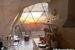 30ft Dome Home Interior