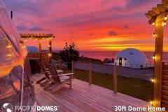 30ft Dome Home - True North Destinations