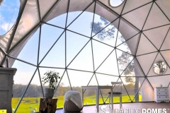 30ft Dome Home - Mile End Glamping
