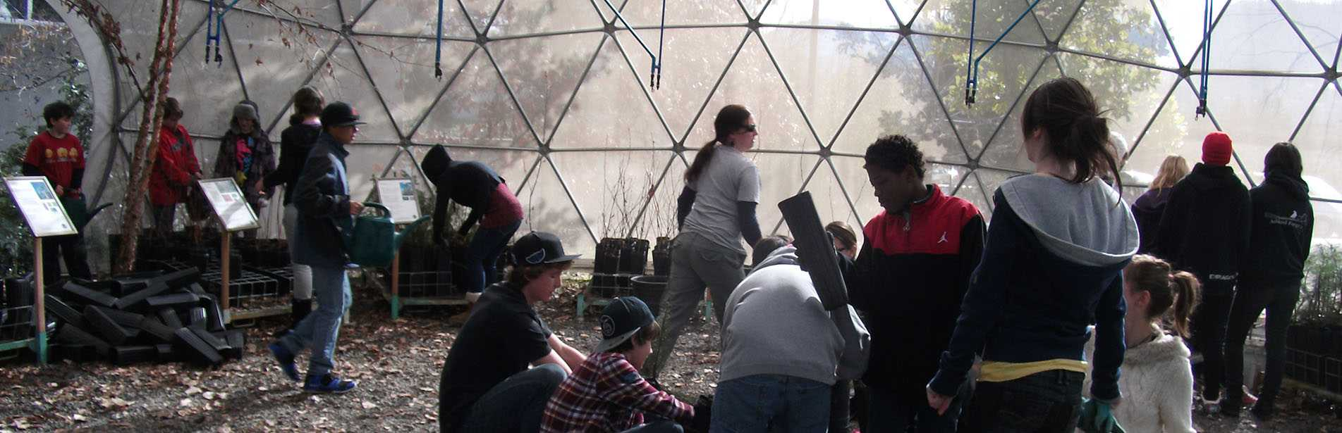 Science Works Greenhouse Dome