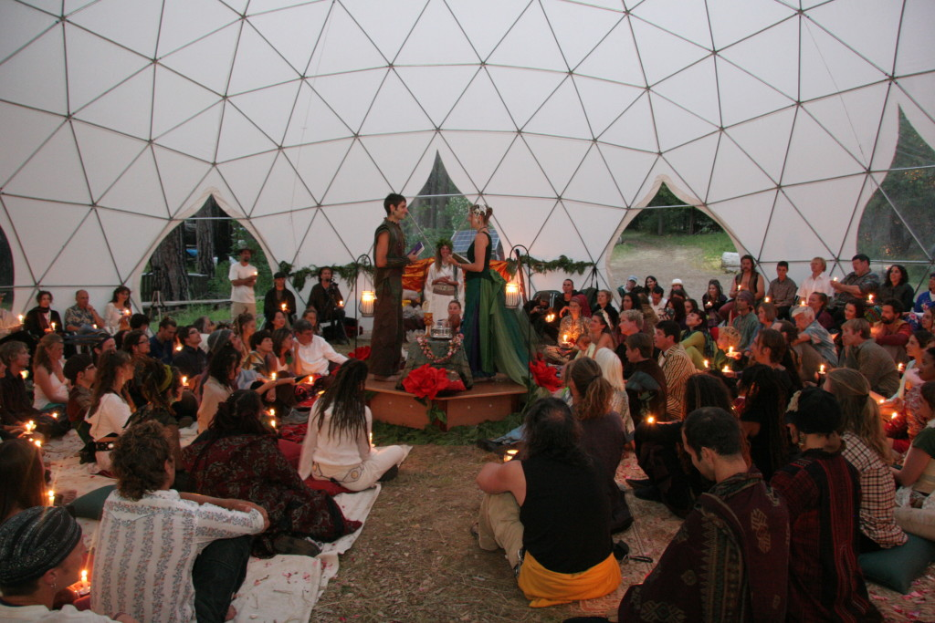 Wedding Dome Tent Interior - Geodesic Event Tents for Rent
