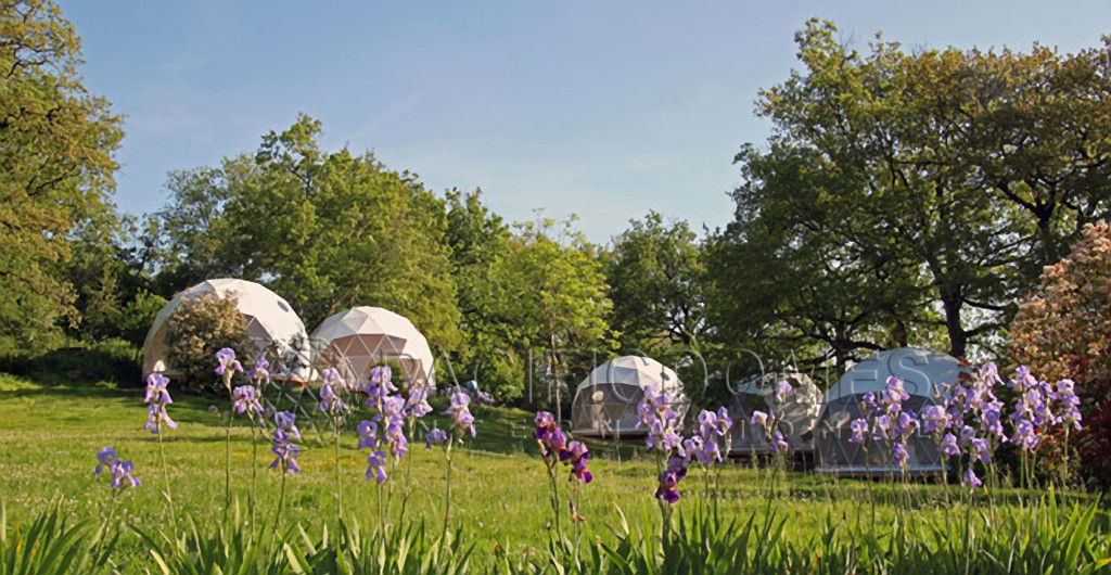 Ferme Des Etoiles - shelter dome prices - dome style shelters