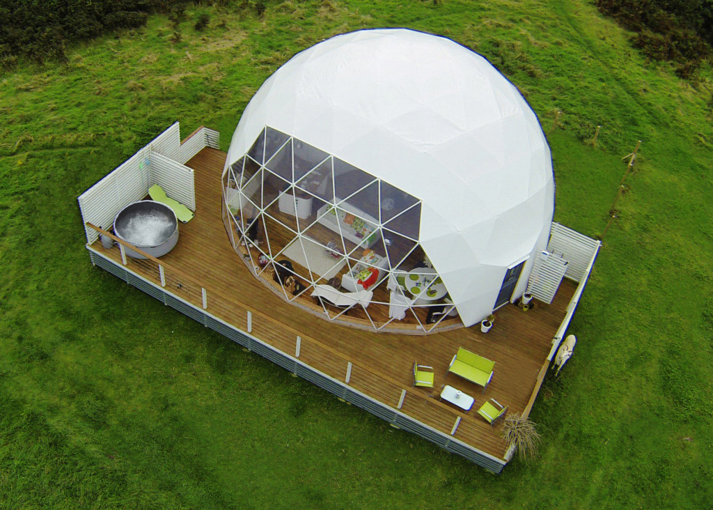 prefabricated shelter domes kits by Pacific Domes