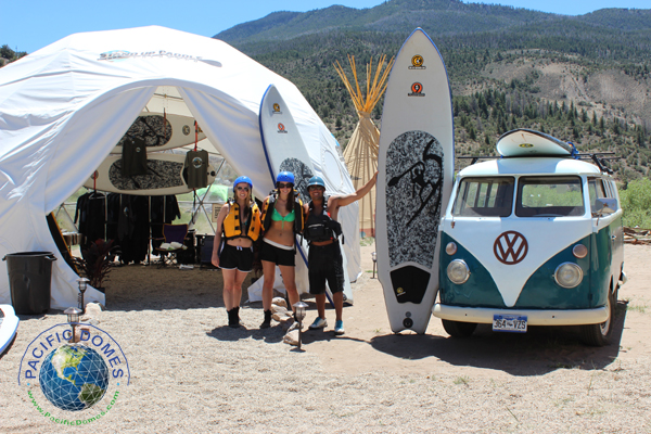 Pacific Domes Adventure Dome for stand up paddle board
