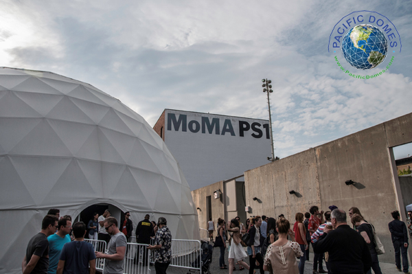 Pacific Domes Event Tent for MoMA PS1 NYC