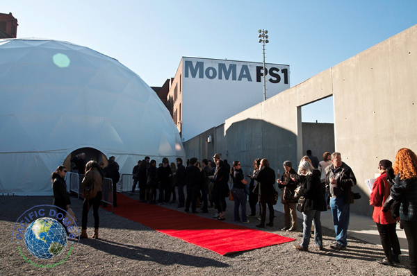 Pacific Domes Geodesic Event Tent for MoMA PS1 NYC