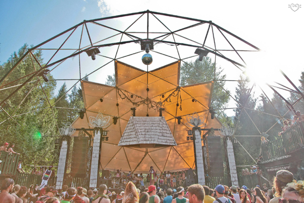 Pacific Domes Event Dome - shambala music festival