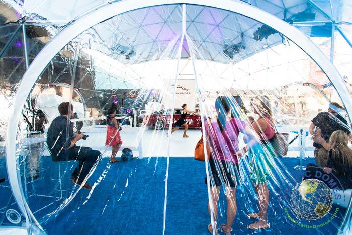 Snow Globe Dome - Geodesic Dome Tent for Jaguar Motors