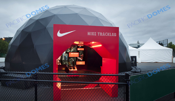 Pacific Domes Event Tent for Nike - Event Tents for Rent
