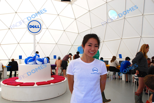 Pacific Domes and Dell Computers - Festival and Events Marketing
