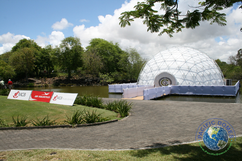 golf simulator dome by Pacific Domes of Oregon - Event Tent Price