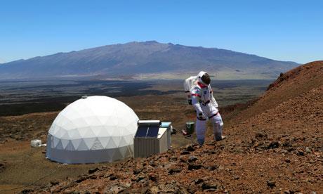Hi-Seas Mars experiment Hawaii NASA and Pacific Domes of Oregon