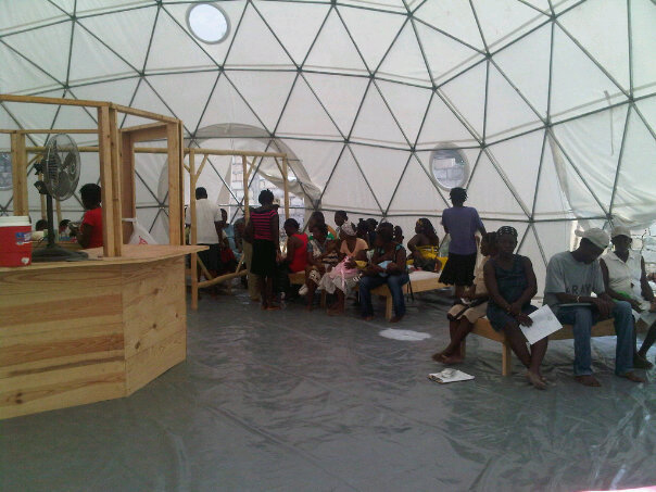 pacific domes relief dome for Haitian Relief