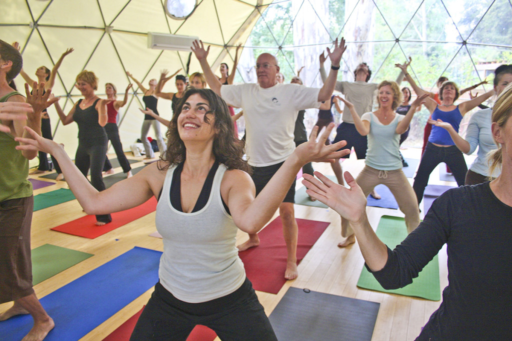 Geodesic Yoga Dome Tent - Pacific Domes of Oregon