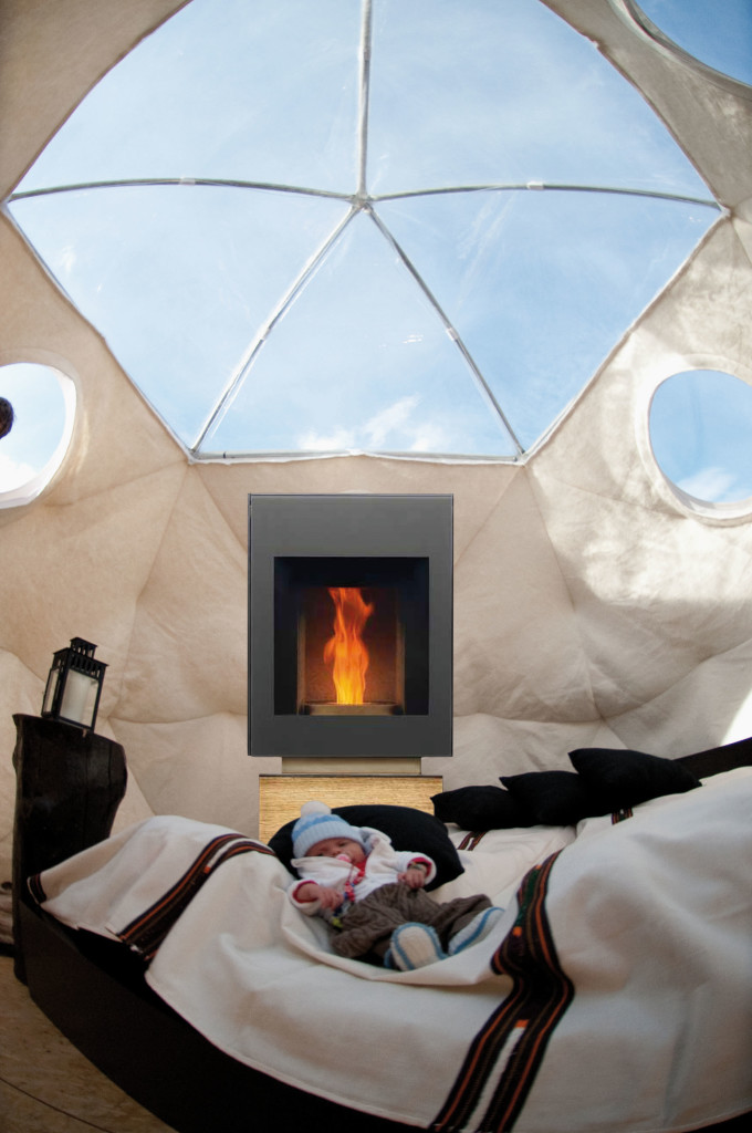 Glamping dome tent - geodesic dome house