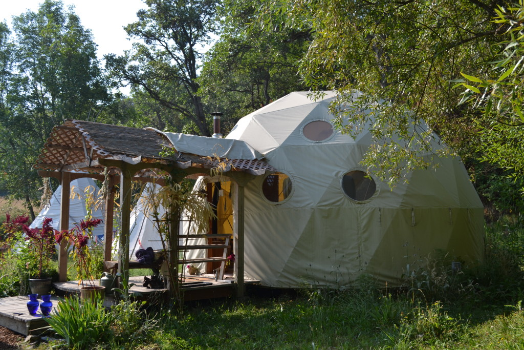 Donated Dome Home Jackson Wellsprings