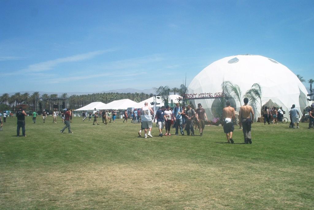 Coachella Festival Dome