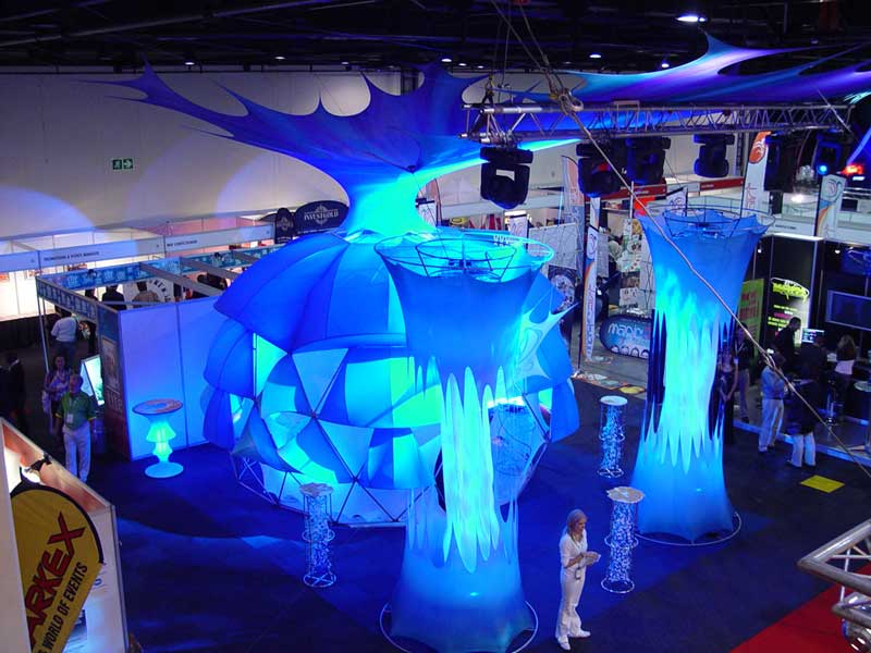 Innovative Trade Show Booth Design - Pacific Domes