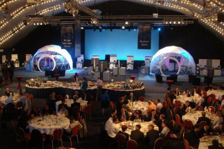 award winning trade show booths by pacific domes