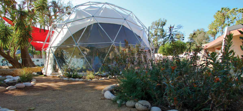 Los Angeles BioLibrary Sound Sanctuary Geodesic Dome