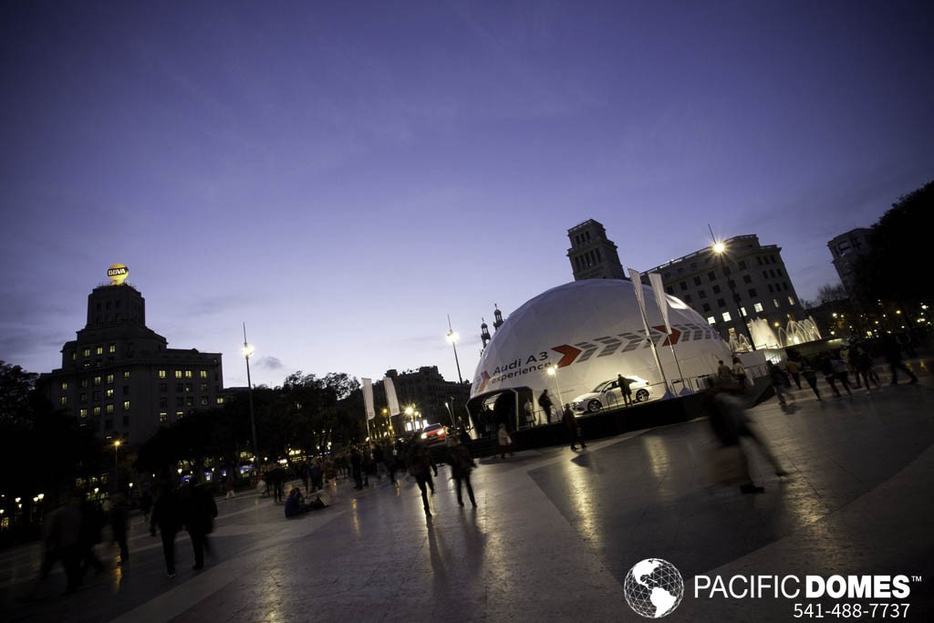Event Dome Tents by Pacific Domes