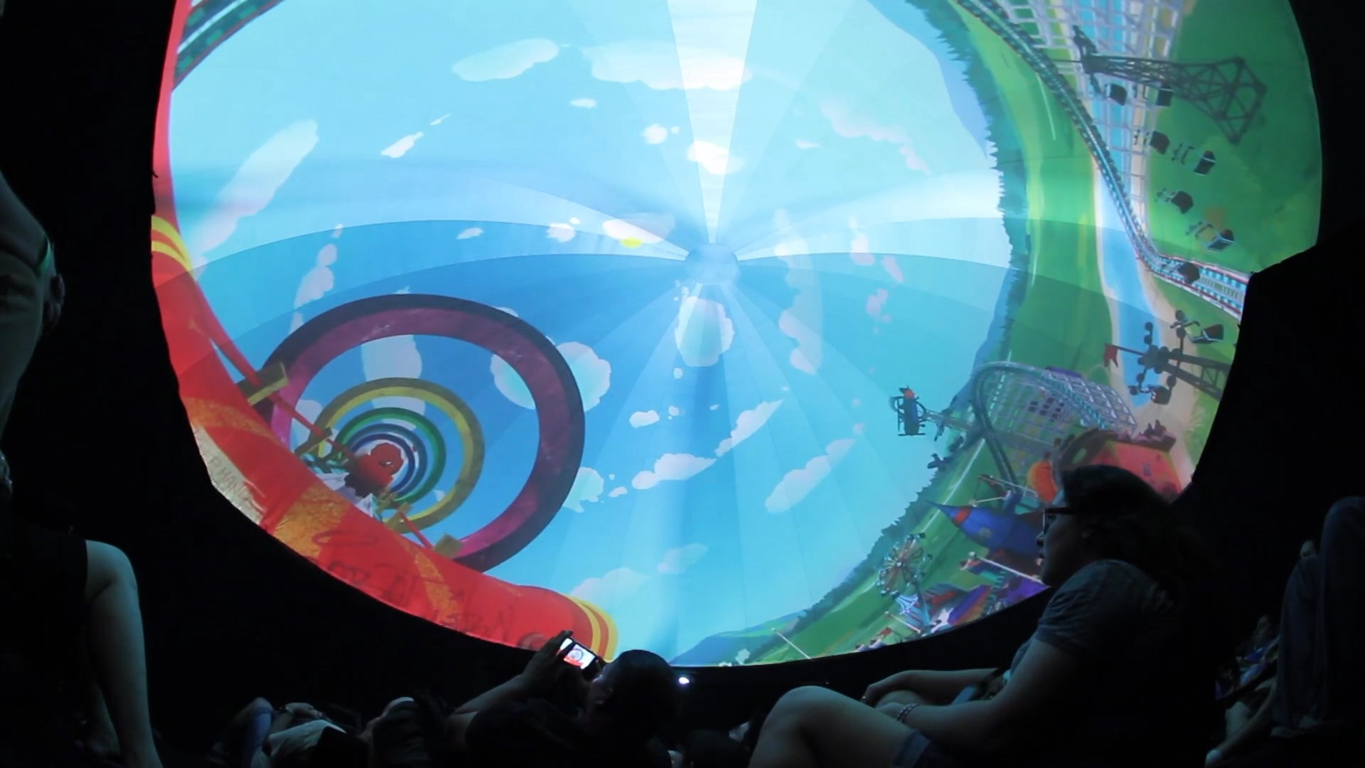 Comic-Con 360 Projection Theater by Pacific Domes
