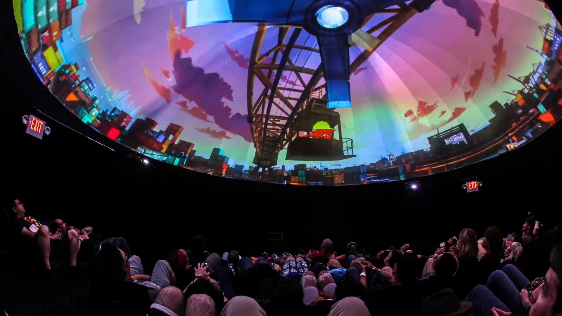 Projection Dome Theater by Pacific Domes at Comic-Con