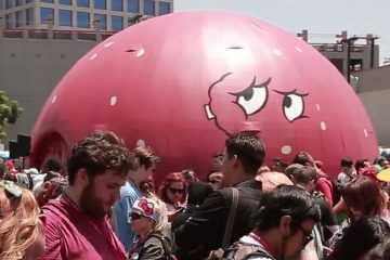 Meatwad Comic Con - Pacific Domes