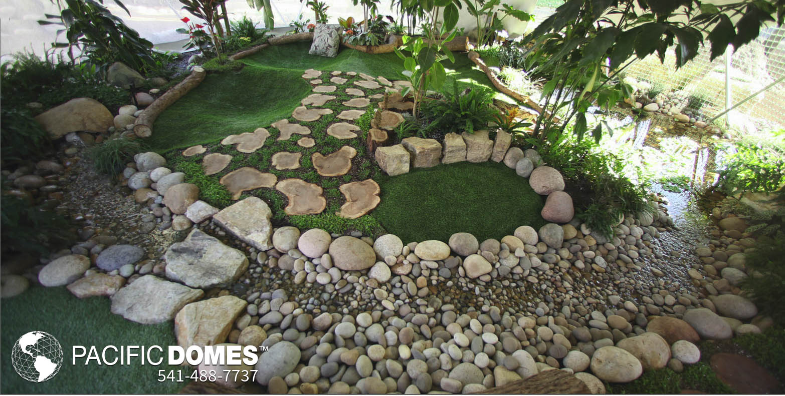 Outdoor Greenhouse Dome Kit - Pacific Domes