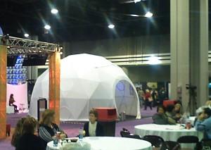 Trade show domes for rent - tradeshow ideas