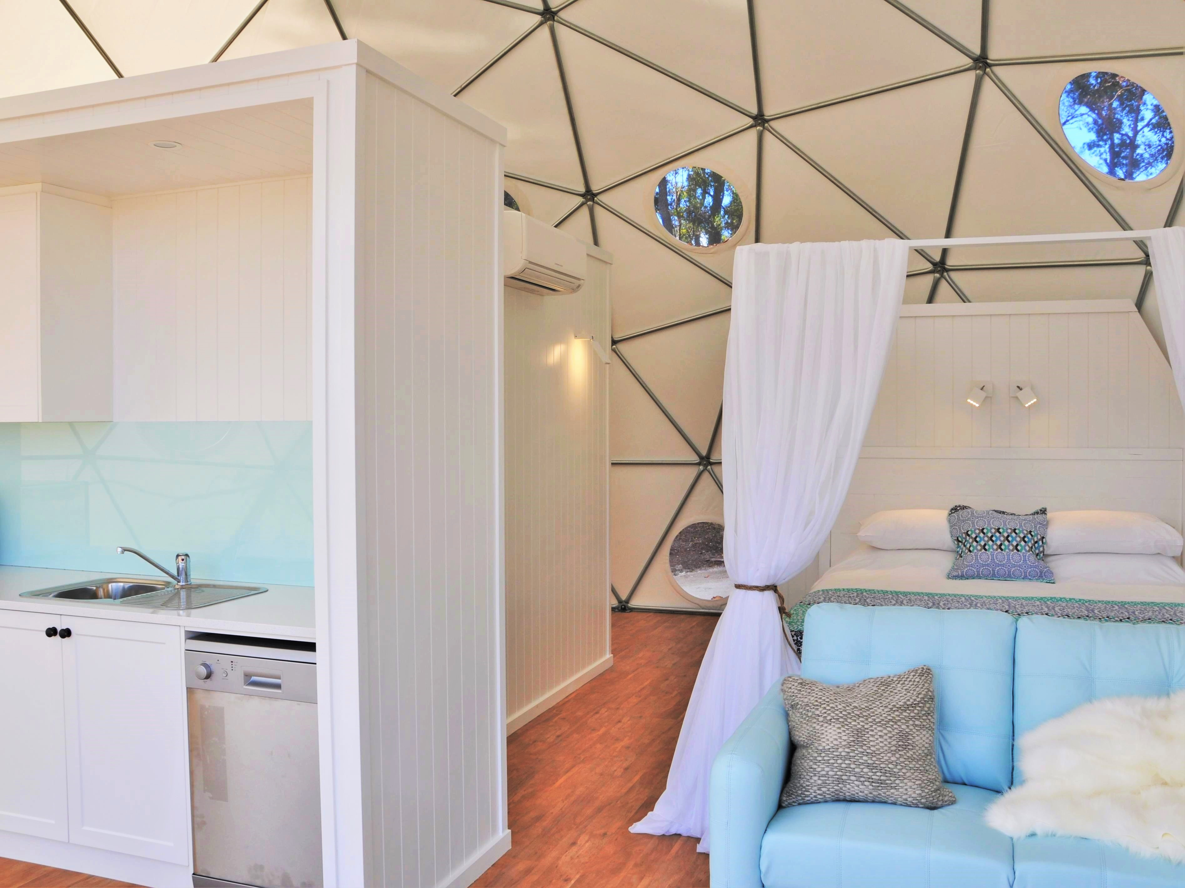 dome shelters for rent - geodome shelters