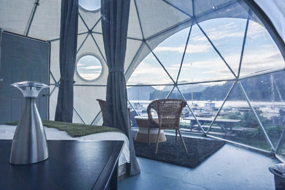 Tiny Home Movement - Glamping Dome Pacific Domes 4_