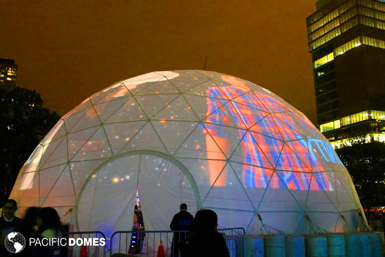 projection dome