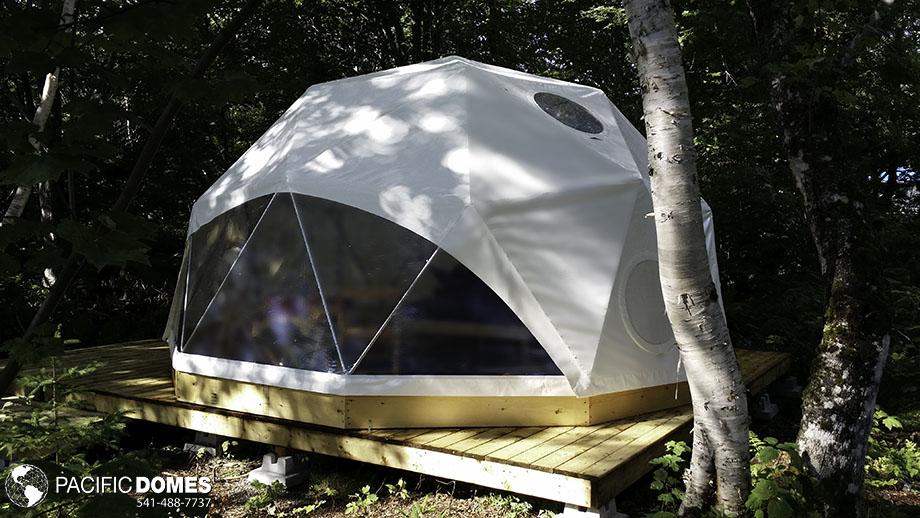 glamping lodging