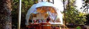 Ridgeback 20ft Glamping Dome