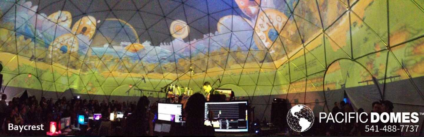 Baycrest Projection - Pacific Domes