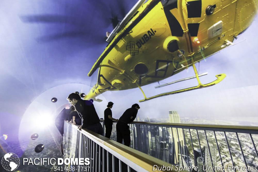 Dubai Sphere-Pacific Domes