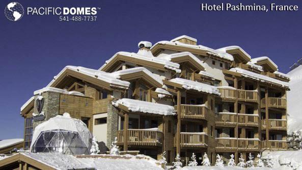 Hotel Pashmina Dome-Pacific Domes