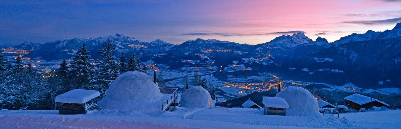 Winter - Eco-resorts - Pacific Domes