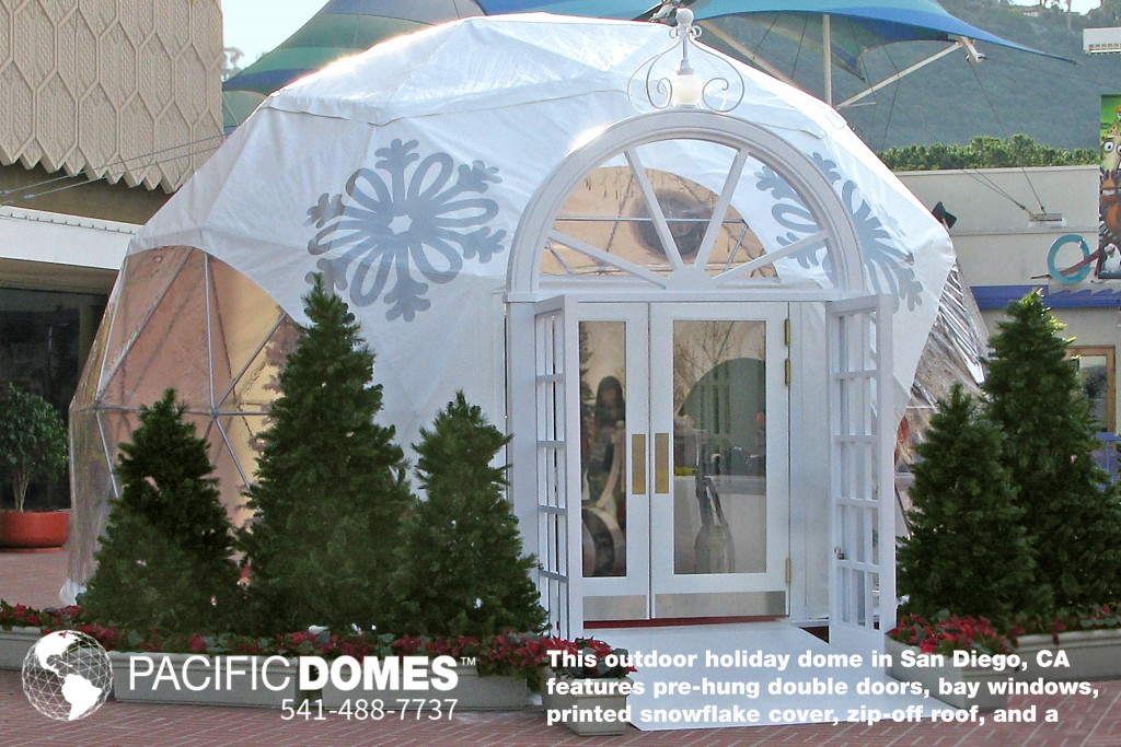 Holiday-Dome-with-Printed-Cover