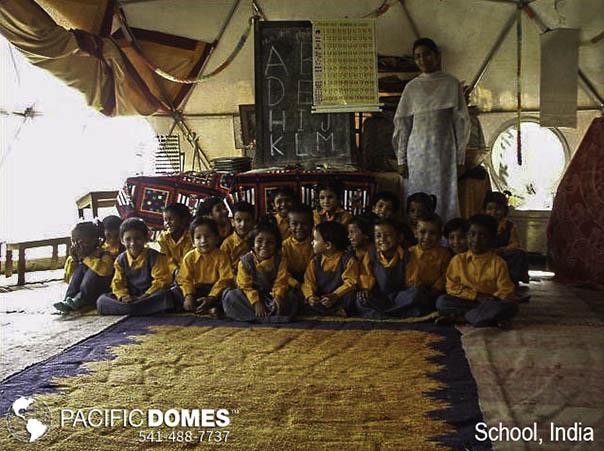 India School-Pacific Domes